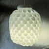 Thìa nhựa làm đèn chùm sáng lung linh